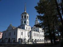 Irkoutsk, Russie - perle de la Sibérie sur la rivière d'Angara Photos stock