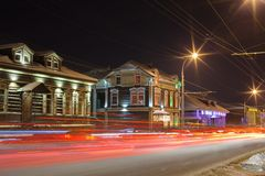 Irkutsk. 130 quarter Stock Photo