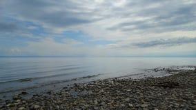 Irkutsk region Baikal w wczesnym poranku Obraz Royalty Free