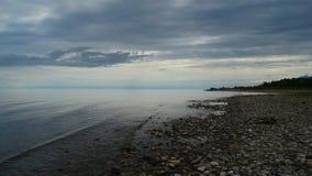 Irkutsk region Baikal w wczesnym poranku Zdjęcia Royalty Free