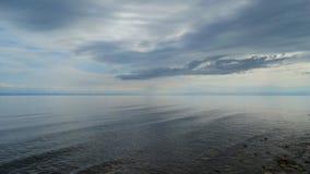 Irkutsk region Baikal w wczesnym poranku Fotografia Royalty Free