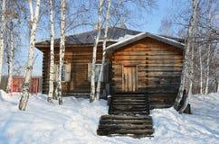 Irkutsk region, Taltsy village. Wooden house of the 19th century