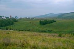 Irkutsk region. Tulun. Siberian nature. Royalty Free Stock Image