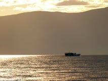 Irkutsk, Russland - 24. August 2012: die Beschaffenheit vom Baikalsee Stockbilder