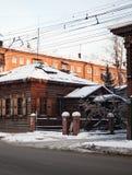 Irkutsk. Winter. Architecture Stock Images