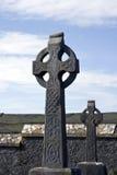 irländare för celtic kors Arkivfoto