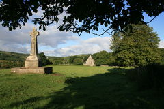 irländare för celtic kors Arkivbild