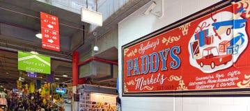 Irländare` s marknadsför Sydney New South Wales Australia Royaltyfria Foton