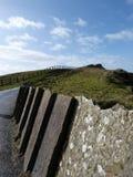 Irländare seglar utmed kusten Arkivfoton
