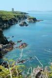 Irländare seglar utmed kusten Royaltyfri Bild