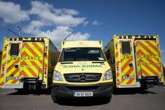 Irländsk ambulansservice Arkivbild
