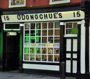 Irländsk bar Dublin Arkivbilder