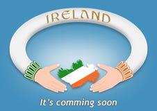 Irländsk cirkel Royaltyfri Fotografi