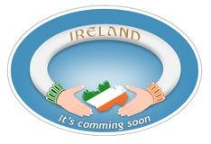 Irländsk cirkel Arkivfoto