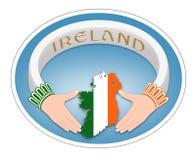 Irländsk cirkel Arkivfoton