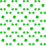 Irländsk ferie Sanktt Patricks dag Lämnar växt av släktet Trifolium också vektor för coreldrawillustration irländsk shamrock stock illustrationer