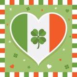 Irländsk garnering stock illustrationer