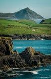 Irländsk kustlinje Royaltyfria Bilder