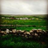 Irländsk landssida arkivfoto