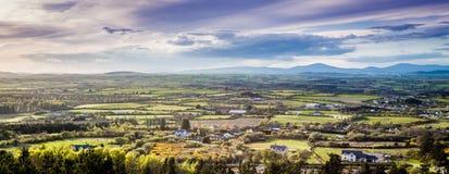 irländsk liggande Arkivbilder