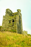 irländsk liggande Fördärvar av slotten, ståndsmässig kork, Irland Europa Royaltyfri Bild