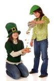 irländsk lycka Arkivfoton