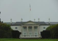 Irländsk presidentuppehåll i Dublin Ireland Fotografering för Bildbyråer