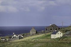 Irländsk sjösida Arkivfoto