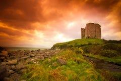 Irländsk slott Royaltyfria Foton