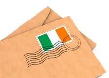 irländsk stolpe Royaltyfria Foton