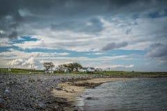 Irländsk stranduppehälle Arkivfoto
