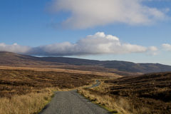 irländsk väg Royaltyfria Bilder