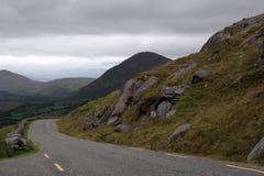 irländska berg arkivbilder