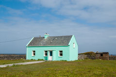 Irländskt hus Arkivfoton