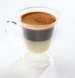 Irländskt kaffe Fotografering för Bildbyråer