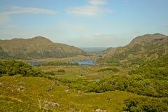 Irländskt landskap. Arkivfoto