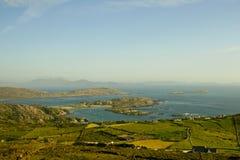 Irländskt landskap. Arkivbild