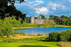 Irländskt slott royaltyfria foton
