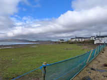 Irlandés Cloudway Foto de archivo