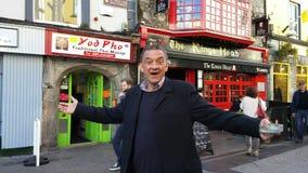 Irlandês verdadeiro de Galway Foto de Stock