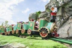 Irland —Children's värld - Europa parkerar i rost, Tyskland Arkivfoton
