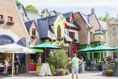 Irland —Children's värld - Europa parkerar i rost, Tyskland Arkivfoto