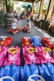 Irland —Children's värld - Europa parkerar i rost, Tyskland Royaltyfria Bilder