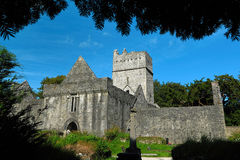 Irland Co Kerry, Muckross abbotskloster, Killarney Royaltyfria Bilder