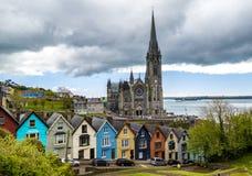 Irland Cobh domkyrka av St Colman royaltyfri fotografi