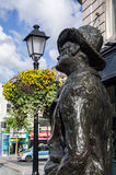 irland dublin James Joyce Lizenzfreie Stockfotos