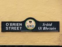 irland Kanturk OBrian-Straße lizenzfreie stockfotografie