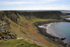 Irland klippa Arkivbild