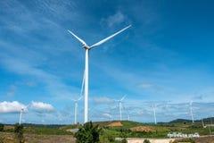 Irland, Ostküste Windturbinen, die Elektrizität festlegen Energie conserva Stockfotos