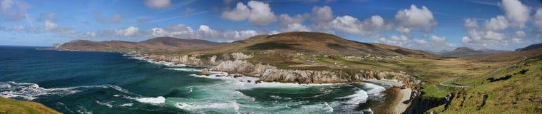 Irland Pano  Royaltyfri Fotografi